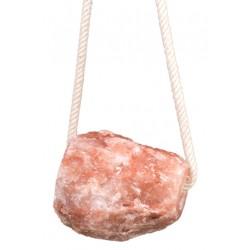HKM Kristall-Salzleckstein mit Kordel, 2 kg