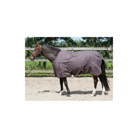 Harry`s Horse Decke Thor 0gr. Black Coffee CHECK TC lining 175 cm