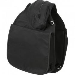 Dreifache großvolumige Satteltasche