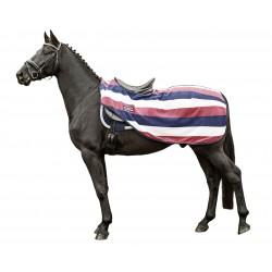 HKM Nieren Abschwitzdecke Colour Stripes mit Klett
