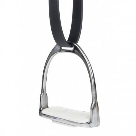 HKM  Steigbügel aus vernickeltem Eisen, Paar